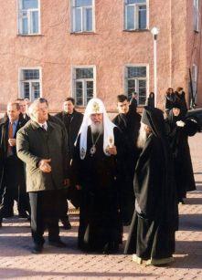 Эдуард Россель, Алексий II иВикентий