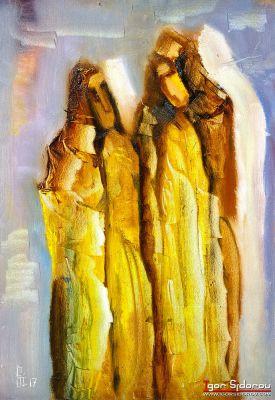 Белые тени от желтых монахов.